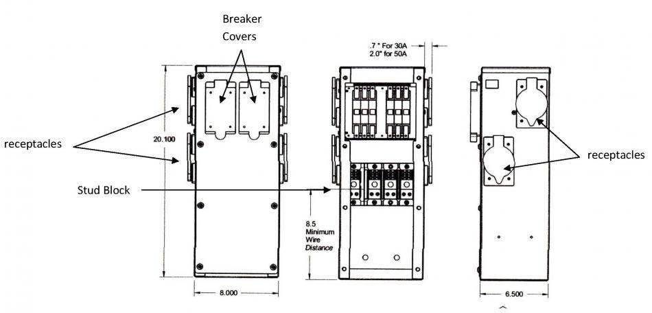 ensign power pedestals